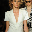 Models walk runway finale at Rachel Zoe show — Stock Photo #36438951