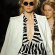 Models walk runway finale at Rachel Zoe show — Stock Photo #36438953