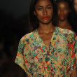 Models at Nanette Lepore show — Photo