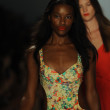 Models at Nanette Lepore show — Foto de Stock