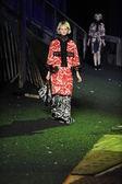 Model at Marc Jacobs fashion show — Foto de Stock