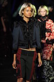 Models at Marc Jacobs fashion show — Stockfoto
