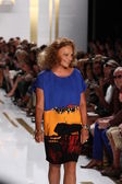 Designer Diane Von Furstenberg — Stock Photo