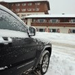 Snow covered car — Stock Photo #37908707