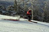 Ski patrol — Stock Photo