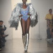 Stock Photo: Model walks at Blonds show