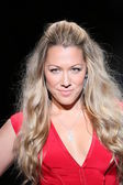 Colbie Caillat wearing Nicole Miller at Go Red For Women — Stock Photo