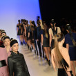 Models runway finale at Meskitfashion show — Stock Photo #40722909