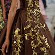 Model walks runway at Oscar De La Renta — Stock Photo #40875343