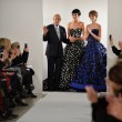 Stock Photo: Designer Oscar De LRentand Karlie Kloss