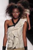 Model wearing designer Altaf Maaneshia — Stock Photo