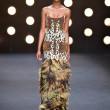 Stock Photo: Model walks runway at Naeem Khan