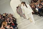 Models at Ralph Lauren fashion show — Stock Photo