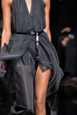 Model walks runway at Donna Karan New York — Stock Photo