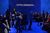 General view at Katya Leonovich fashion show — Stock Photo