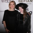 Actress Kelly Rutherford and designer Gabrielle Arruda — Stock Photo