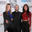 Actress Brittany Mason, designer Dany Tabet and guest — Stock Photo #41524223