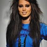 Model walks runway at Artistix show — Stock Photo