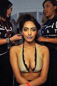 Model at Miss Kinsman Swim show — Stock Photo