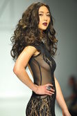 Model at MT Costello fashion show — Stock Photo