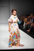 Child model at Nancy Vuu Children show — Stock Photo