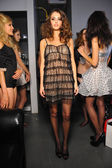 Models before Aeneas Erlking Fashion Presentation — Stock Photo