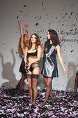Models at Aeneas Erlking Fashion Presentation — Stock Photo