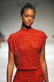Model at Ozgur Masur fashion show — Stock Photo