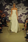 Model during Carolina Herrera show — Stock Photo