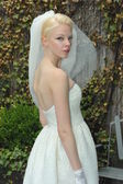 Model during Justina McCaffrey show — Stock Photo