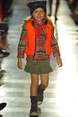 Model at Ralph Lauren Children Fashion Show — Стоковое фото