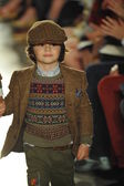 Model at Ralph Lauren Children Fashion Show — Stock Photo