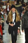 Model at Ralph Lauren Children Fashion Show — Stock Photo