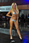 Model during International Bikini Model Search — Stock Photo