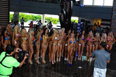 Models during International Bikini Model Search — Stock Photo