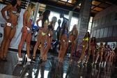 Models during International Bikini Model Search — Stock Photo