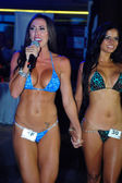Model at International Bikini Model Search — Stock Photo