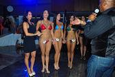 Model at International Bikini Model Search — Stock Photo