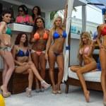 Models poses at Mandala Beach Resort — Stock Photo #46979811