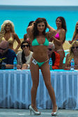 Models during IBMS at Beach Resort — Stock Photo