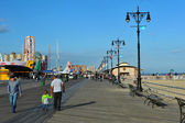 Coney Island Boardwalk — Stock Photo