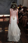 Model at Claire Pettibone collection show — Stock Photo