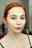 Modell på claire pettibone show — Stockfoto