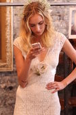 Model at Claire Pettibone show — Stock Photo