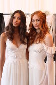 Models at Claire Pettibone show — Stock Photo