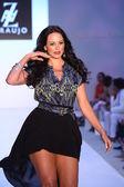Cozete Gomes at the A.Z Araujo show — Stock Photo