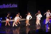 Performances at Top Model Latina 2014 — Stock Photo