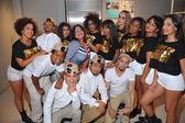 Dancers at Top Model Latina 2014 — Stock Photo