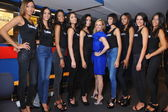 Models before Top Model Latina 2014 — Stock Photo