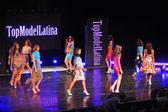 Models at Top Model Latina 2014 — Stock Photo